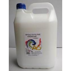 Kremowe mydło w płynie AS 5l